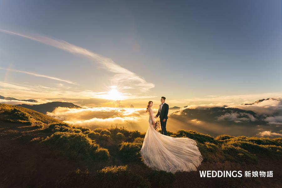 高山婚紗照,婚紗攝影,婚紗照,拍婚紗,婚紗造型,婚紗照風格