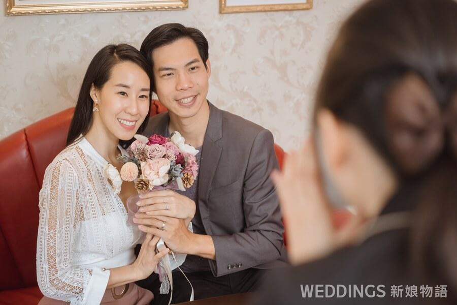 KUNO,李詹瑩,訂製婚戒,完全訂製,結婚戒指,對戒