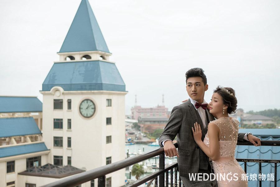新北婚宴、新北婚禮場地、淡水福容大飯店、福容大飯店、福容大飯店淡水漁人碼頭、郵輪婚禮、戶外證婚