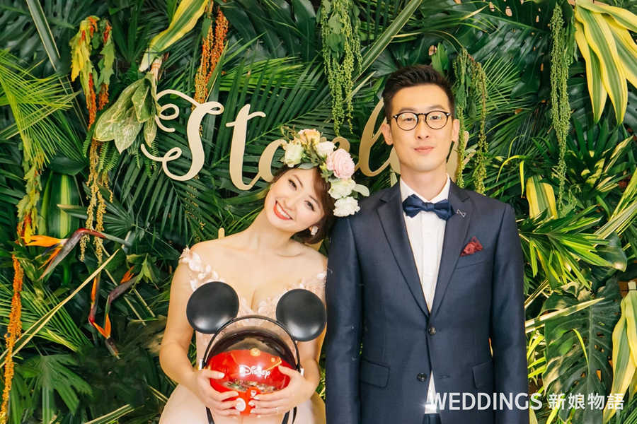 婚禮佈置、客製化婚禮佈置、花藝佈置、台北花藝推薦、台北婚禮佈置推薦、婚禮花藝