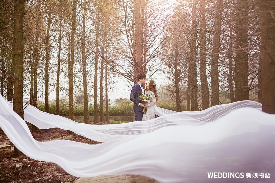 拍婚紗前必讀|8大婚紗照風格,妳喜歡哪一種?