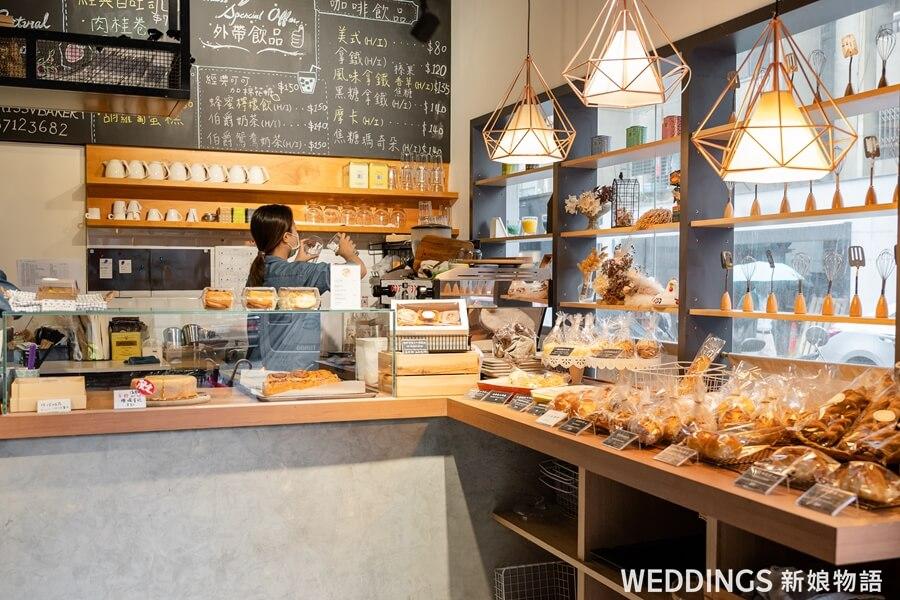 MissVBakery, MissV,喜餅,美式喜餅,手工喜餅,肉桂捲,赤峰咖啡廳,敦北咖啡廳