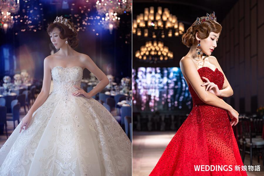 新娘髮型,婚紗髮型,新娘造型,婚紗造型,新娘皇冠,皇冠造型