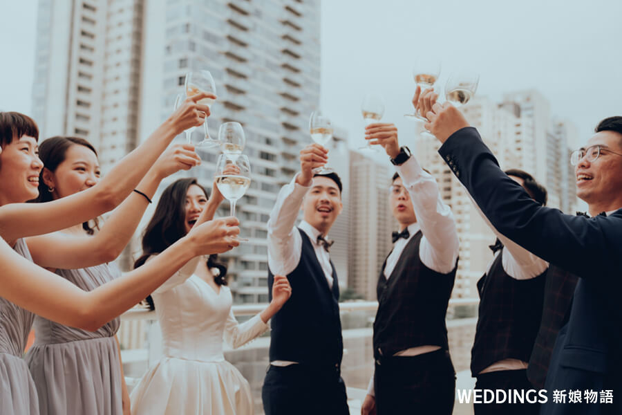 伴郎,伴娘,婚禮總招待,婚禮招待,收禮金,發喜餅,婚禮工作人員