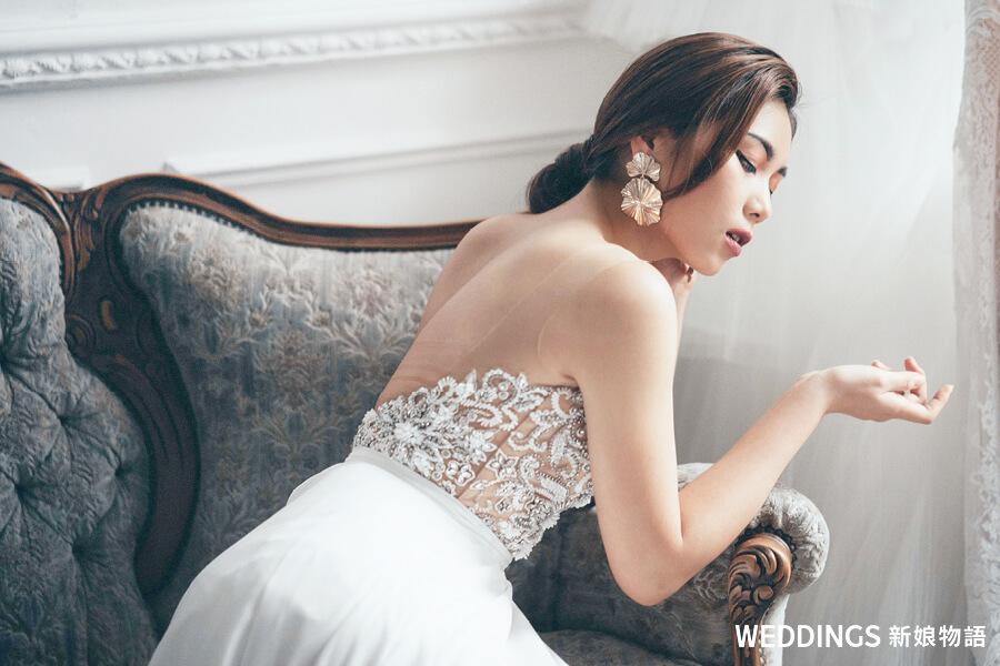 新娘秘書,婚紗造型趨勢,新娘髮型,新娘造型,新娘妝,陳青靖彩妝造型師
