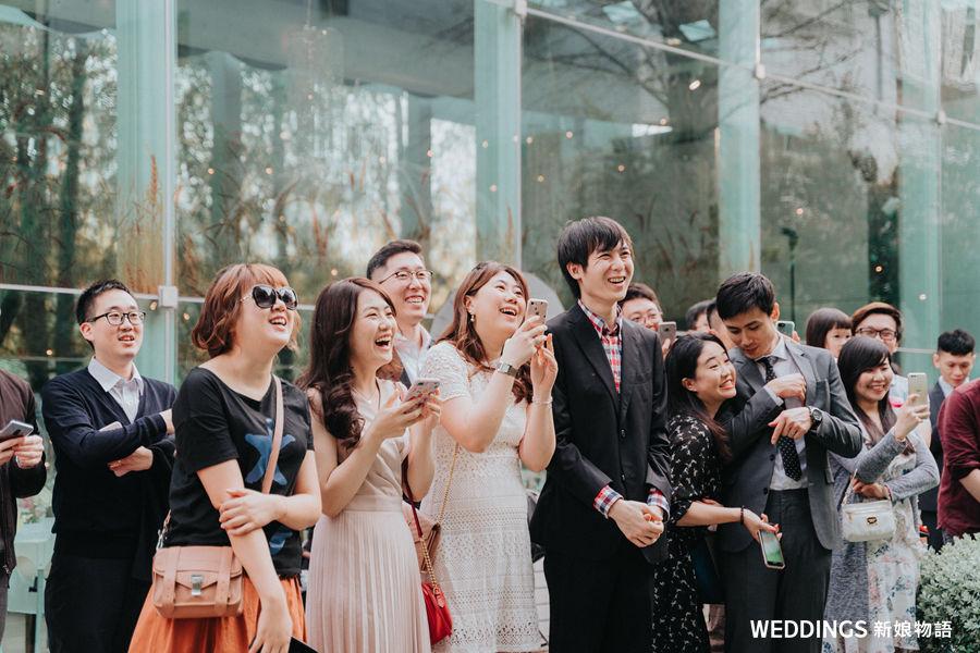 婚禮穿搭, Sosi,美式婚禮,私宅婚禮,派對婚禮,輕婚紗,淡水嘉廬