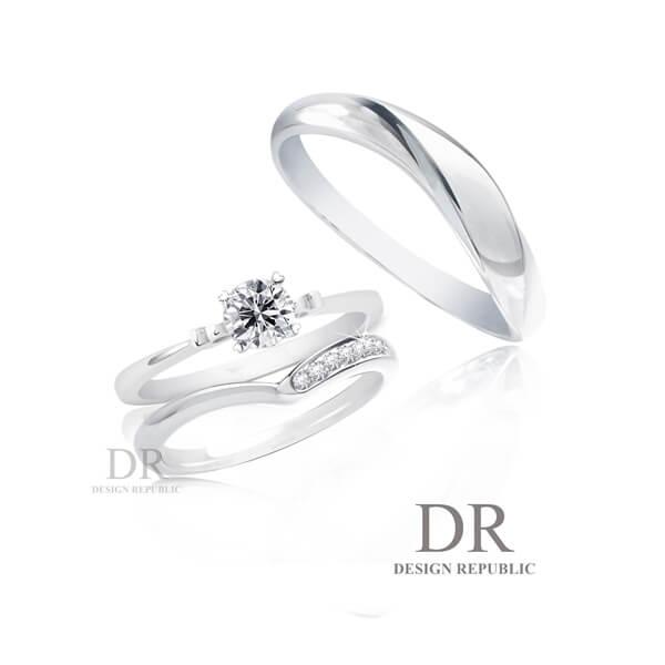DR,婚戒,對戒,結婚戒指