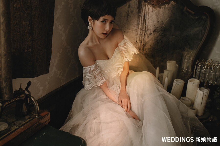 新秘,婚紗造型趨勢,新娘造型,婚紗髮型,新娘妝,Allen Chi Makeup Hair