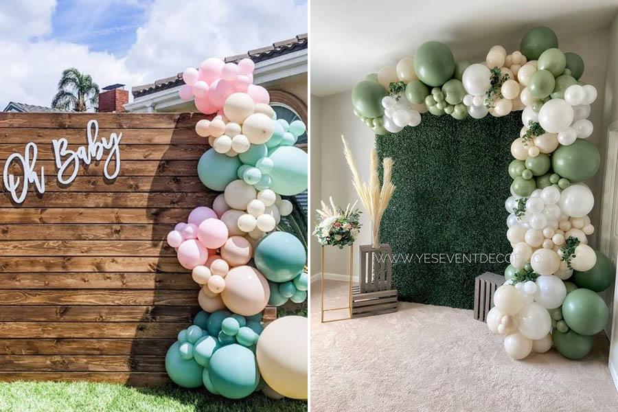 氣球佈置、婚禮氣球、婚禮佈置diy、氣球拱門