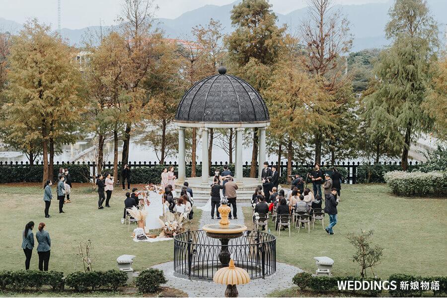 冬山河渡假飯店,宜蘭婚禮場地推薦,宜蘭美式戶外婚禮,戶外證婚,私宅婚禮