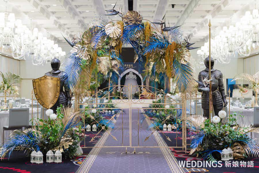 婚禮佈置,婚佈,頂級婚禮,奢華婚禮,劇場式造景, Birch Event Design