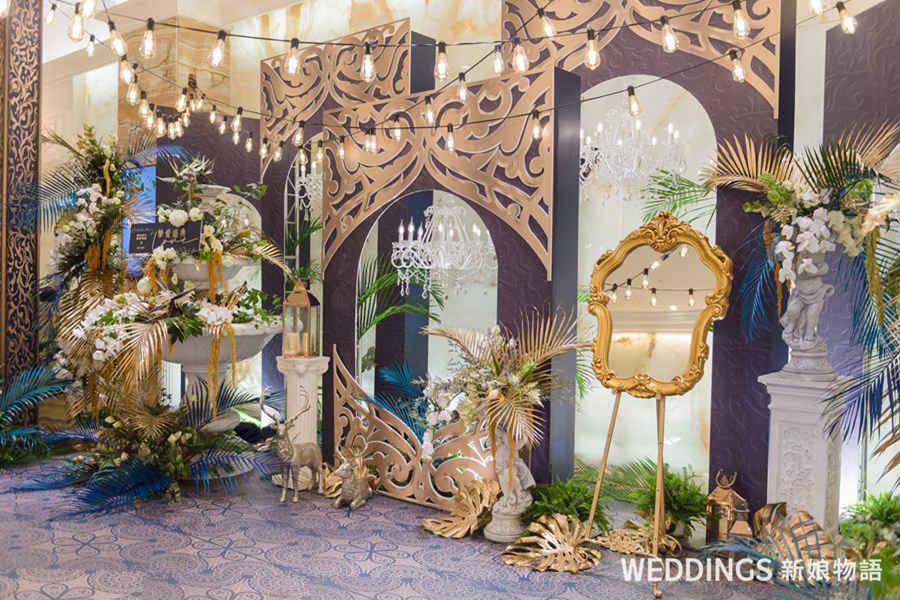 婚禮佈置,奢華,高雄林皇宮,天使夢工場,摩洛哥