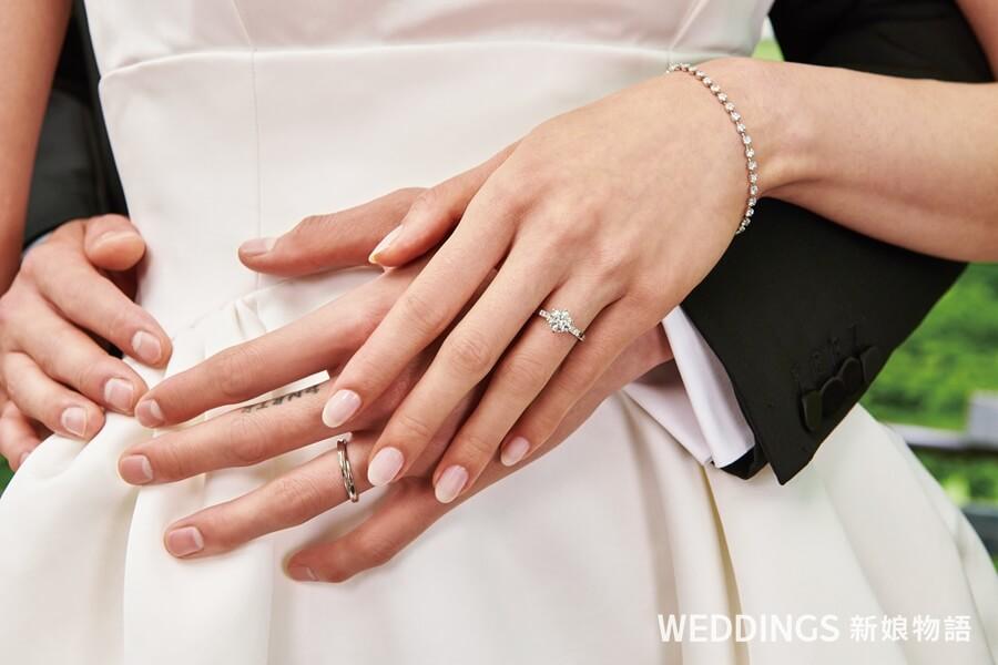 點睛品,PROMESSA,星宇鑽戒,結婚戒指