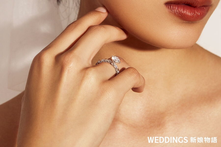 JOY COLORi,求婚鑽戒, DIAMOND FOUNDRY,水滴形車工,綠柱形車工,未來鑽石,環境永續