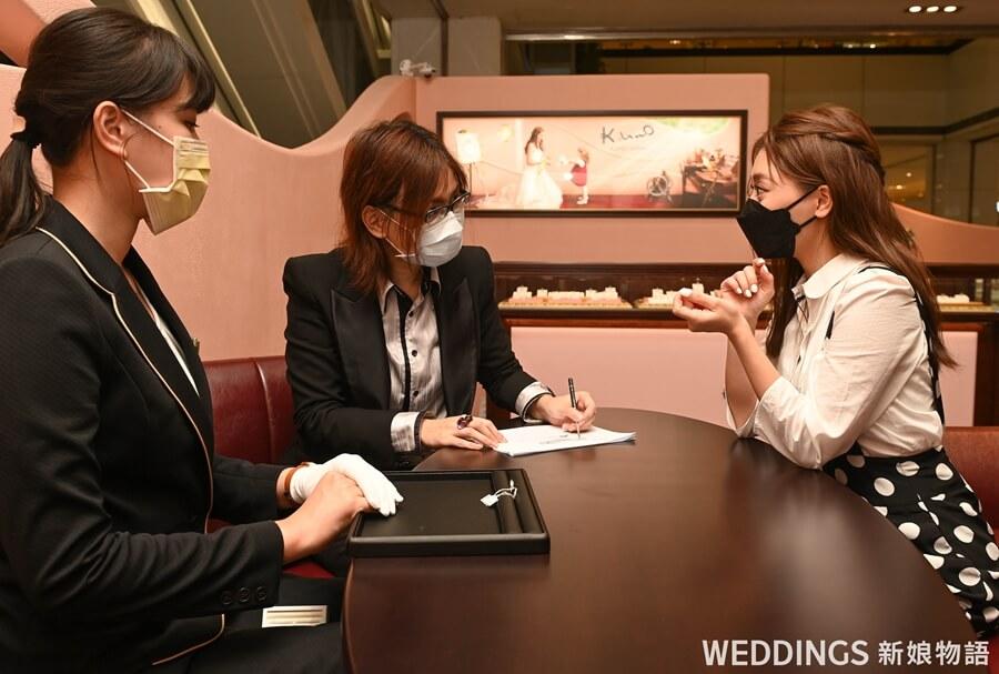 訂製婚戒,客製化婚戒,KUNO,迪士尼婚戒,KUNO台南